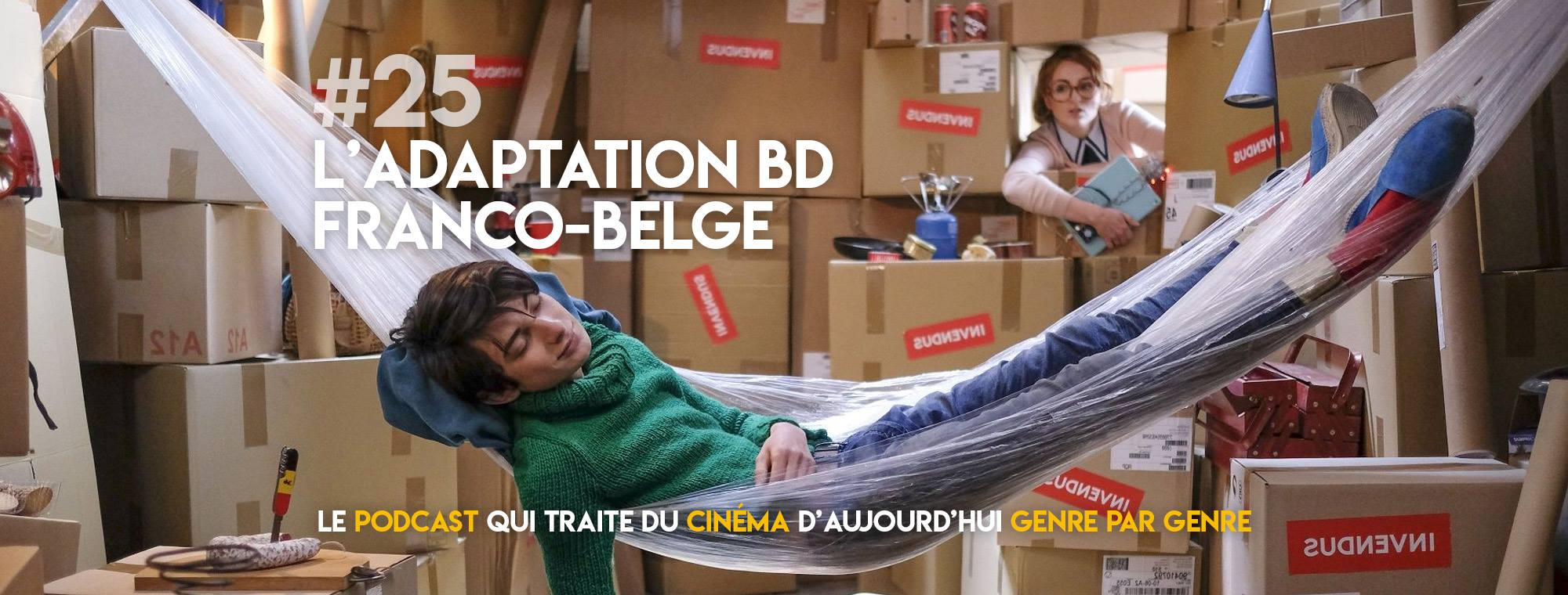Parlons Péloches - #25 L'adaptation BD franco-belge