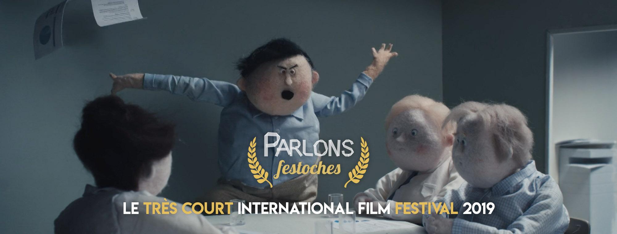 Parlons Péloches - #1 Le Très Court International Film Festival