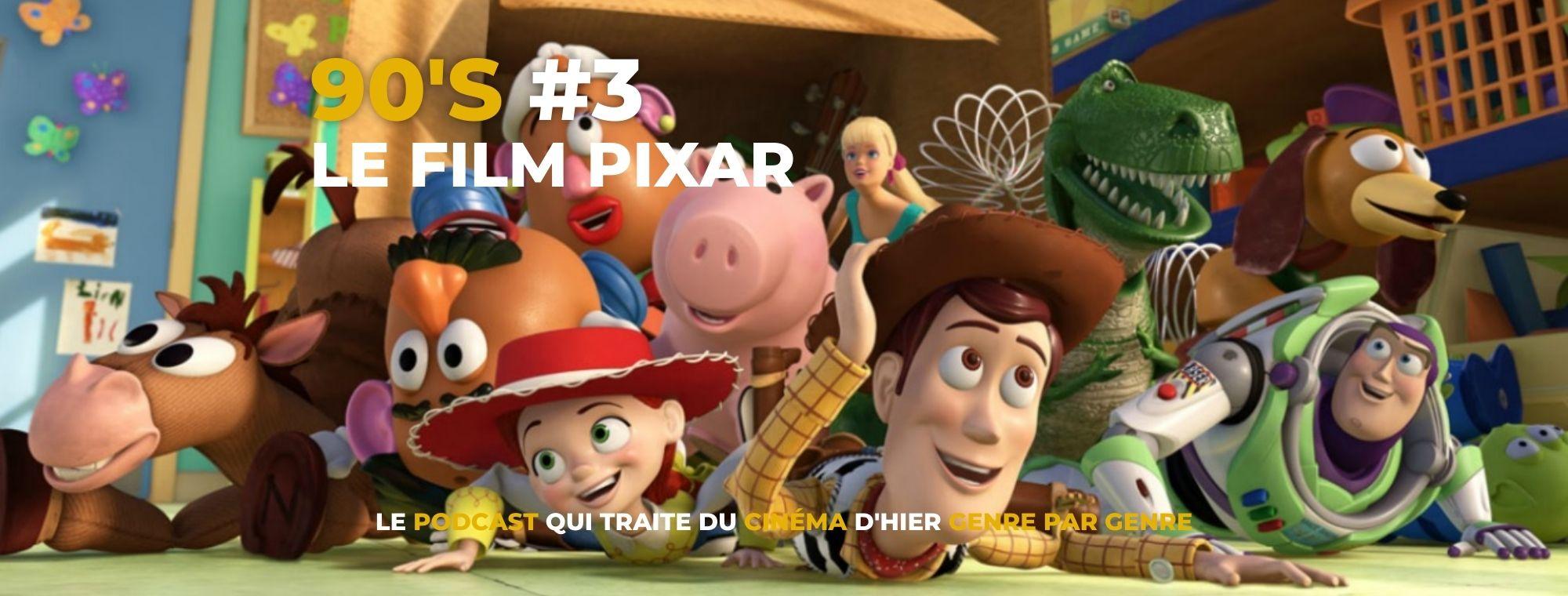 Parlons Péloches - 90's #3 Le film Pixar